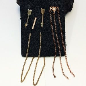 Free People Forward Moving Earring Set